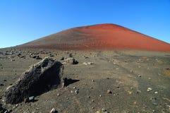 Vulcano landscape Royalty Free Stock Image