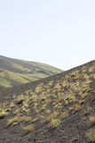 Vulcano landscape Royalty Free Stock Images