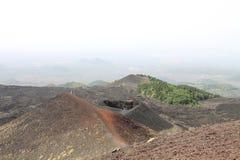 Vulcano landscape Stock Image