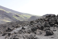 Vulcano landscape Stock Images