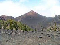 Vulcano-Landschaft von La Palma Lizenzfreies Stockfoto
