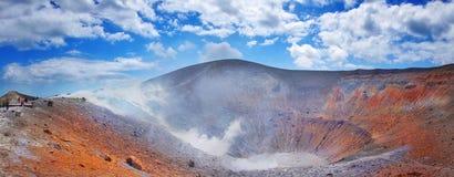 Vulcano, Lipari, Sicily, Italy, panoramic view Stock Photos
