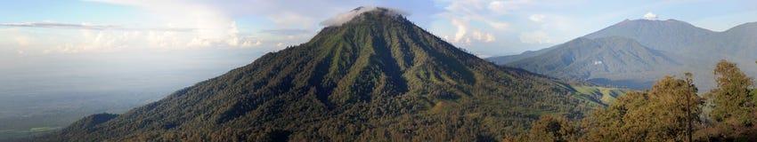 Vulcano Raung na wyspie Java Obraz Stock
