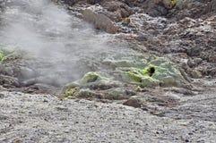 Vulcano respirante Immagine Stock Libera da Diritti
