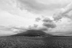 Vulcano, Sakurajima, Kagoshima Immagini Stock Libere da Diritti