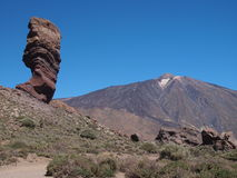 Vulcano Teide Fotografia Stock