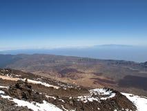 vulcano teide стоковое изображение