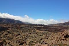 Vulcano Tenerife, isole Canarie di Roques de Garcia e di Canadas de Teide Fotografie Stock