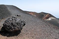 Vulcano vom Ätna auf Sizilien Stockfoto