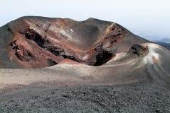Vulcano vom Ätna auf Sizilien Stockfotos
