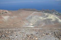 Vulcano wyspa, Lipari, Włochy Fotografia Royalty Free