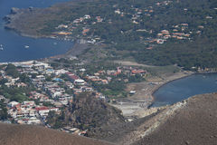 Vulcano wyspa, Lipari, Włochy Obraz Royalty Free