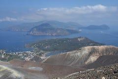 Vulcanoeiland, Lipari, Italië Stock Fotografie