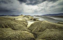 Vulcanoes da lama Imagens de Stock