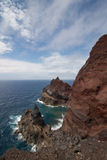 Vulcao dos Capelinhos, Faial Stock Image