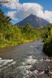 Vulcão de Arenal Foto de Stock