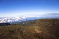 Vulcão de Pitão de la Fournaise, Reunion Island, França Fotografia de Stock