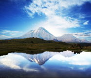 Vulkaan Stock Foto's