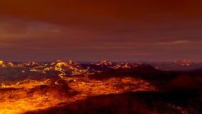 vulkaan Royalty-vrije Stock Foto's