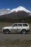 Vulkaan Cotopaxi (5897 m) Stock Afbeeldingen