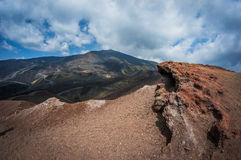 Vulkaan Etna Royalty-vrije Stock Foto's