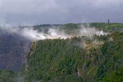 Vulkaan in Hawaï royalty-vrije stock afbeelding
