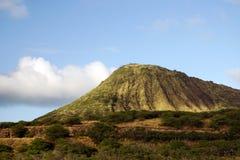 Vulkaan in Hawaï Stock Afbeeldingen
