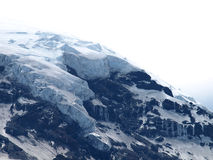 Vulkaan lanin Stock Afbeelding