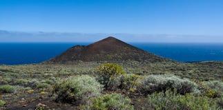 Vulkaan op het eiland van La Palma Royalty-vrije Stock Afbeelding