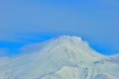 Vulkaan in Rusland Royalty-vrije Stock Afbeelding