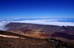 Vulkaan Teide Stock Afbeeldingen