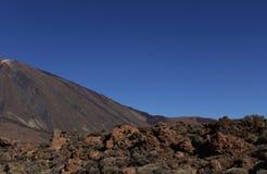 Vulkaan Teide stock foto's