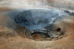 Vulkaan van Krafla Stock Afbeelding