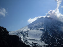Vulkaanuitbarsting Stock Fotografie