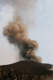 Vulkanätna-Eruption Lizenzfreie Stockbilder