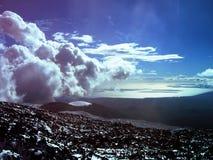 Vulkan Ätna Sizilien, Italien Stockbild