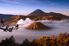 vulkan Royaltyfri Bild