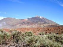 Vulkan stockfoto