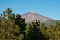 Vulkan Arkivfoto