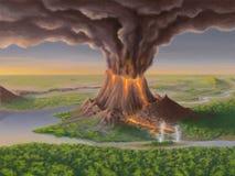 vulkan Stock Abbildung
