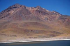 Vulkan, Atacama-Wüste, Chile Lizenzfreies Stockbild