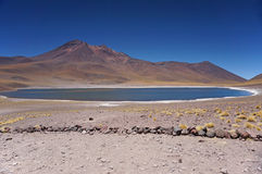 Vulkan, Atacama-Wüste, Chile Lizenzfreie Stockbilder