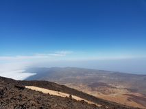 Vulkan auf Teneriffa Lizenzfreies Stockbild