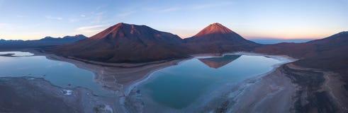 Vulkan av Licancabur Royaltyfri Foto