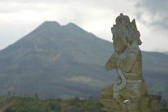 Vulkan in Bali Stockbild