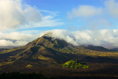 Vulkan Batur Arkivfoto