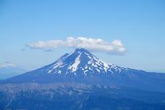 Vulkan in Chile Lizenzfreies Stockfoto