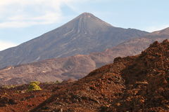 Vulkan EL-Teide Lizenzfreies Stockfoto