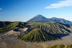 vulkan för bromoEast Java montering Fotografering för Bildbyråer