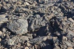 vulkan för lanzarote nationalparktimanfaya Arkivfoto